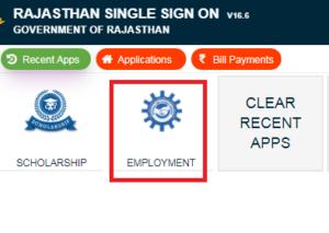 berojgari bhatta rajasthan apply online