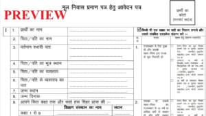 [PDF] Rajasthan Domicile Certificate Application Form PDF Download